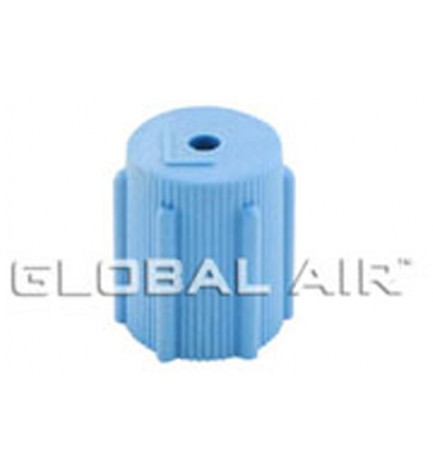 13mm Blue Low Side Quick Disconnect Service Valve Port Cap (Inside Thread: M8 x 1.0) R134a