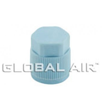 13mm Blue Low Side Quick Disconnect Service Valve Port Cap (Inside Thread: M9 x 1.0) R134a