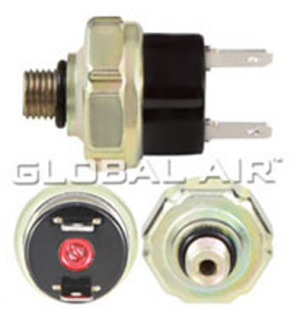 Universal Low Pressure Switch 3/8-24 UNF Male  Off: 2.1 Kg/cm² R-132a Chrysler 69-90 (Has Red Dot)