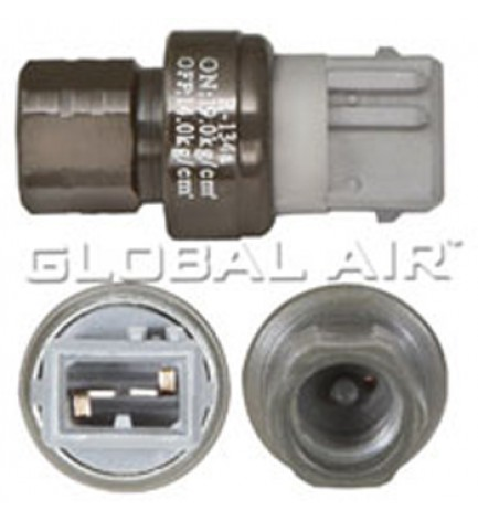 R134a GREY HIGH-PRESSURE CUT-OFF SWITCH: Volvo 940, 960 1993-1995 (Thread: M12-P1.5 Female)