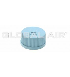 JRA Light Blue High Side Quick Disconnect Service Valve Port Cap (Inside Thread: M10 x 1.25)