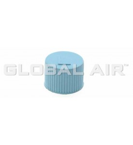 JRA Light Blue Low Side Quick Disconnect Service Valve Port Cap (Inside Thread:M9 x 1.0) R134a