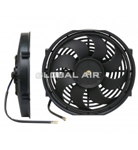 10 Cooling Fan S-Blade (80Watts) (Pusher/Reversible) 12V