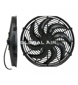14 Cooling Fan S-Blade (80Watts) (Pusher) 12V