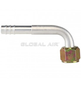 90º Female Flare Fitting #08 (13/32)